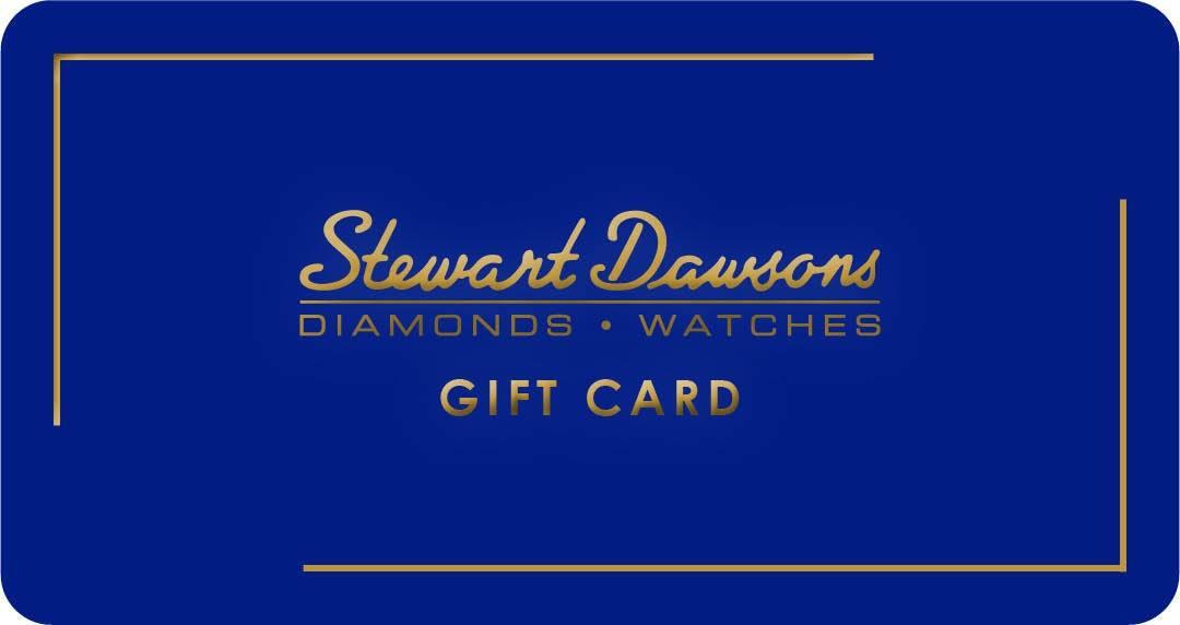 Gift Card. Stewart Dawsons