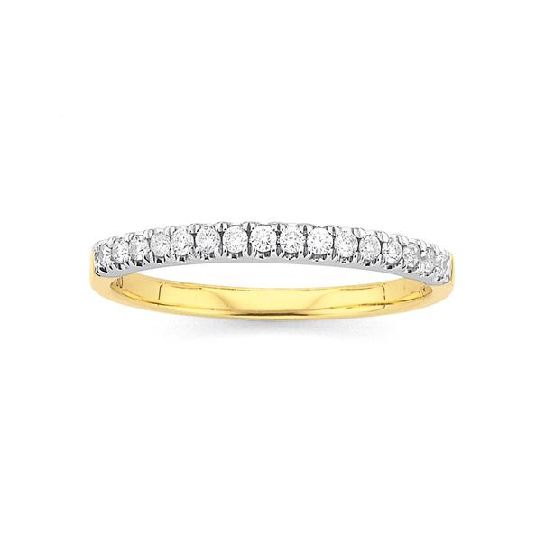 18ct Diamond Anniversary Ring