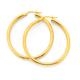9ct 35mm Polished Hoop Earrings