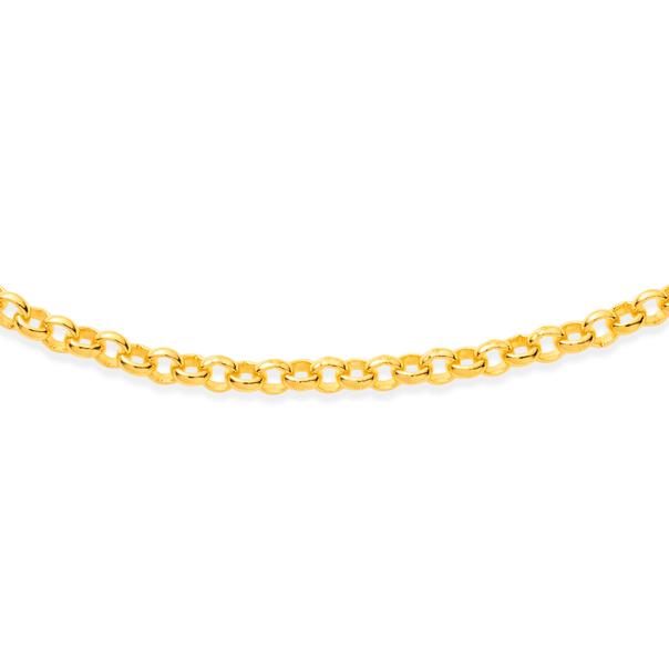 9ct 45cm Belcher Chain