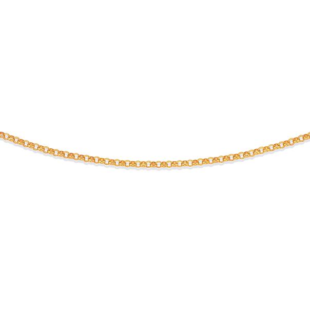 9ct 45cm Fine Solid Belcher Chain