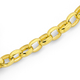 9ct 45cm Oval Belcher Chain with Bolt Ring
