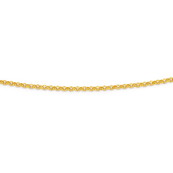 9ct 50cm Belcher Chain