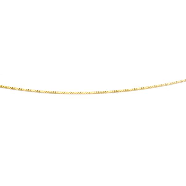9ct 50cm Box Chain