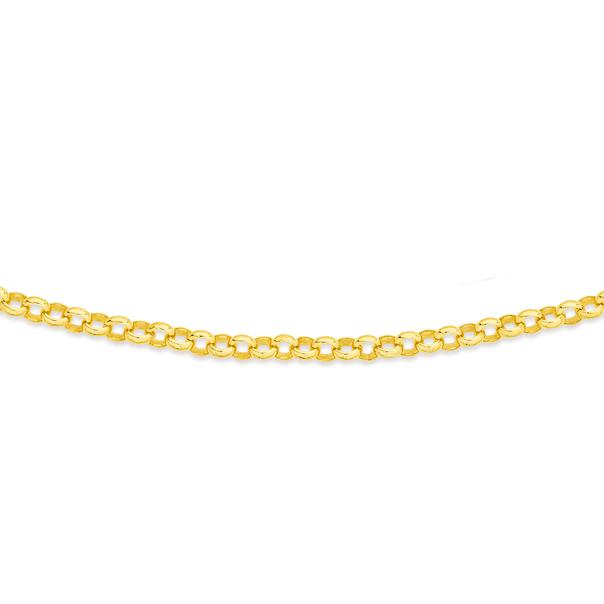 9ct 55cm Solid Belcher Chain