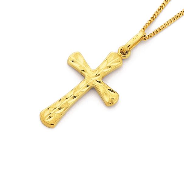 9ct Cross Pendant