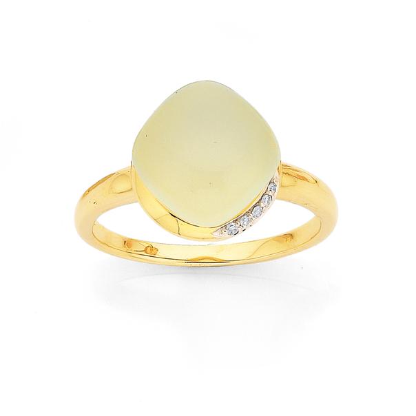 9ct Eliza Chalcedony Ring