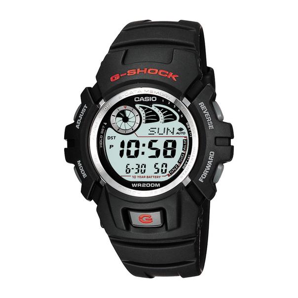 Casio G-Shock Black Resin Strap Watch