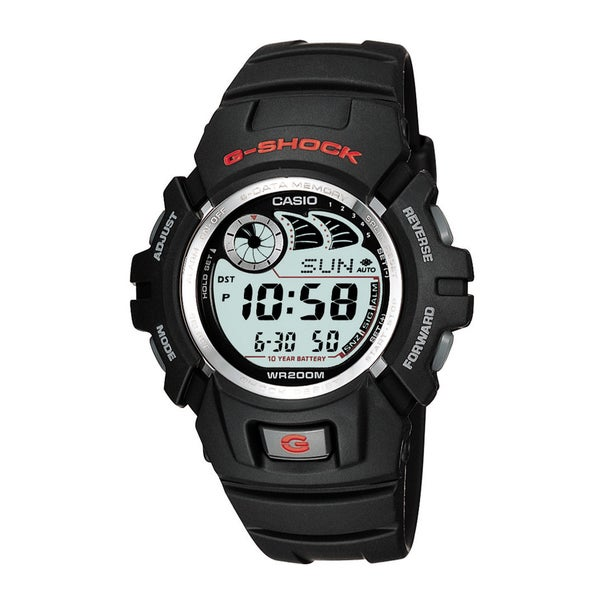 Casio G-Shock Black Resin Strap Watch