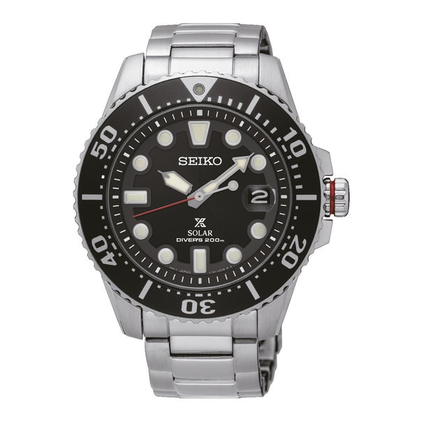 Seiko Men's Prospex Divers, Solar Watch