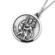 Sterling Silver 20mm St. Christopher Pendant