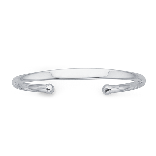 Sterling Silver Gents Cuff Bangle