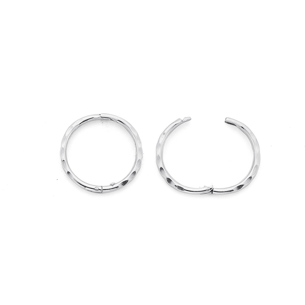 Sterling Silver Small Twist Sleepers